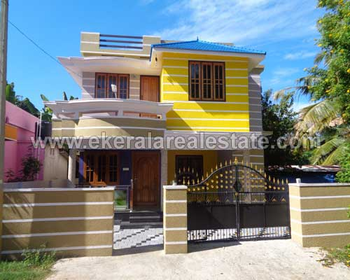 trivandrum real estate nedumangad double storied newly Built houses in nedumangad