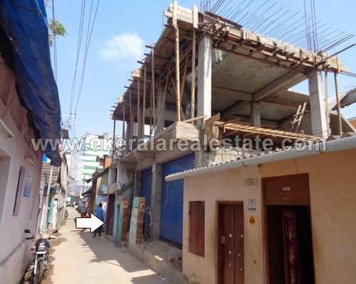 Shops for sale at Attakulangara near East Fort trivandrum kerala real estate