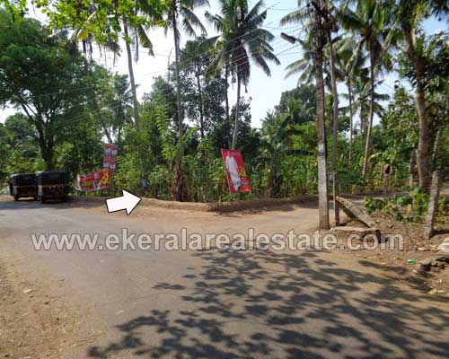 Two Side Road Frontage Land for Sale at Alamcode near Attingal Trivandrum Kerala