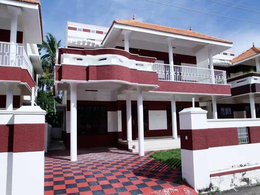 Villas in Trivandrum 4 Bedroom Villa for Sale near Kazhakuttom Trivandrum Kerala Kazhakuttom Properties