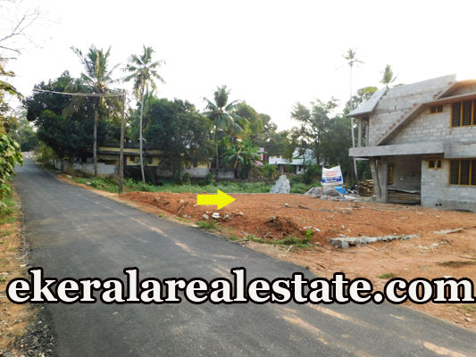 4.25 cent house plot for sale at Thirumala Trivandrum Thirumala real estate properties sale